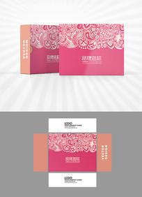 高档花纹包装盒设计