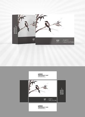 花鸟画包装盒设计