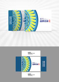 民族风包装盒设计
