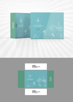 清新自然包装盒设计
