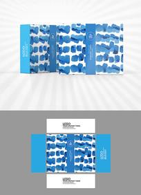 水彩色块包装设计