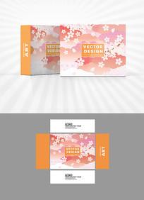 樱花烂漫包装盒设计