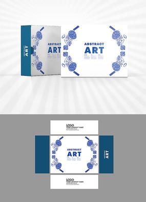 花朵装饰图案包装设计