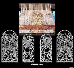 华丽雕刻花纹装饰图案模板