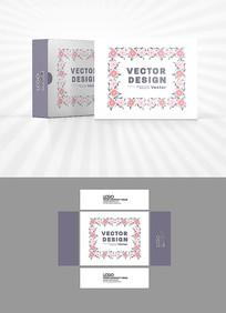 花纹边框包装盒设计