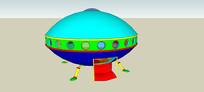 太空站SU模型