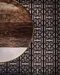 新中式风格的卧室背景墙