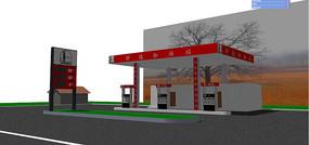 钟陵加油站