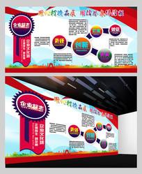 企业文化标语展板模板