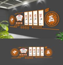 创意新中式中医文化墙设计