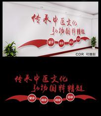 简约中医文化墙