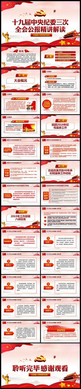 学习中央纪委第三次会议PPT pptx