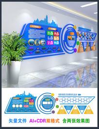 现代企业文化形象墙