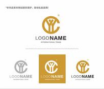 YCYlogo字母logo