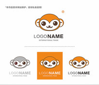 动物儿童服装logo