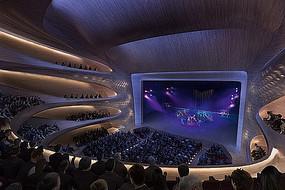 歌舞剧院舞台室内设计