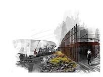工业风展厅环境景观 JPG