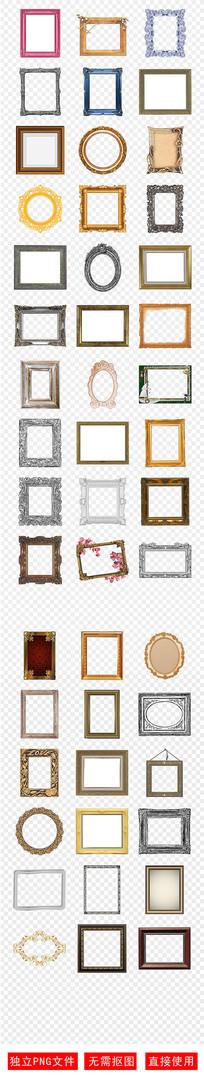 欧美式复古相框油画框素材