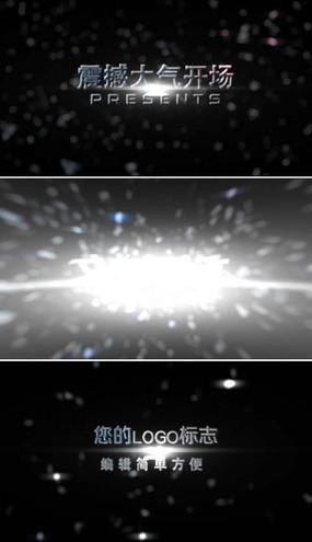 震撼大气粒子爆炸片头模板