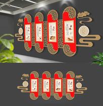 中式中医文化墙