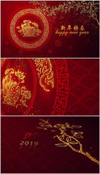 edius2019新年春节视频模板