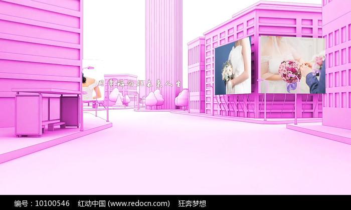 粉丝浪漫爱情婚礼AE视频模板