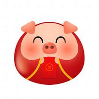 送红包小猪