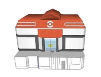 动画建筑模型