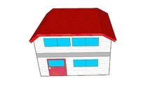 卡通住宅模型