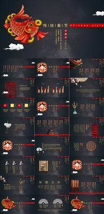 中国春节通用PPT模板