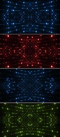 4K闪烁粒子舞台灯光背景视频素材