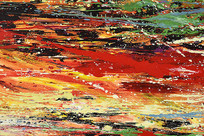 艺术抽象油画背景墙