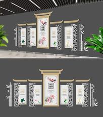 最新淡雅廉政文化墙