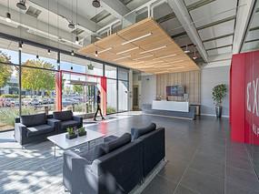 办公大楼接待厅装修设计