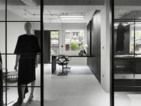 工业风办公室设计 JPG