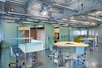 工业风办公室室内设计 JPG