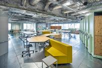 工业风音乐办公室设计 JPG