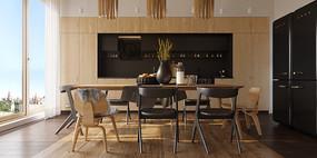 简约现代厨房装修设计
