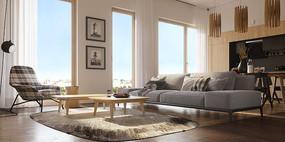 简约现代客厅设计