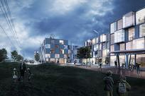 矩形模块化建筑