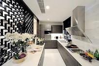 现代简约中式厨房
