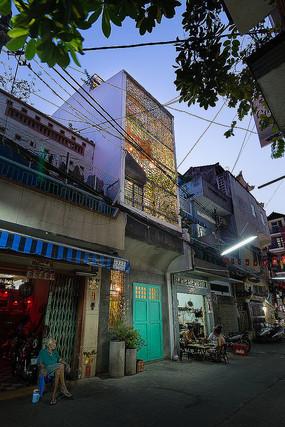 越南西贡老房创意改造