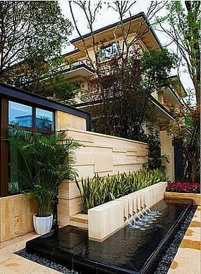 别墅花园庭院