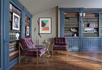 典雅书房装修设计