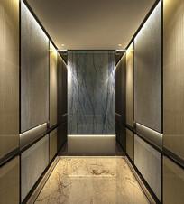 公寓电梯轿厢 JPG