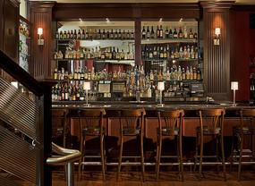 酒吧吧台意向图