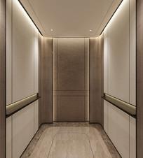 酒店电梯轿厢效果图 JPG