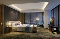 酒店套房卧室 JPG