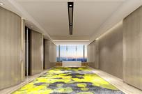 客房层电梯厅 JPG