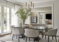 欧美风家庭用餐区设计